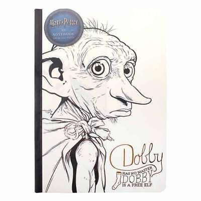 Official Harry Potter Dobby Is A Free Elf A5 Note Book Notebook Pad