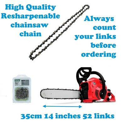 Einhell chainsaw chain 35cm 14 inches 52 links 1395 picclick uk electric chainsaw chain 35cm 14 inches 52 links greentooth Gallery