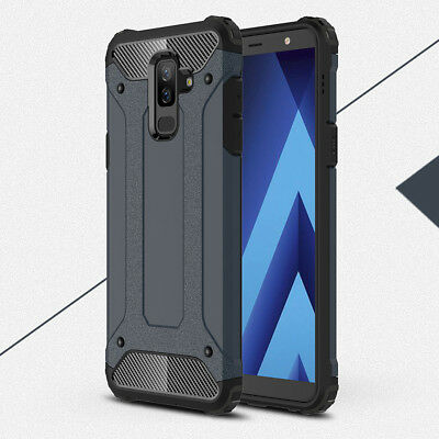 Shockproof Hybrid Rugged Armor Hard Case Cover For Samsung Galaxy A6 Plus 2018