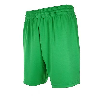 Men's Football Shorts Green Sizes M to L. Top Quality Unbranded Teamwear