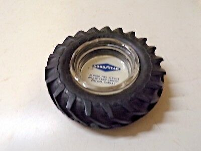 Old Goodyear Tire Ashtray Atwood Farm Service Lincoln Kansas