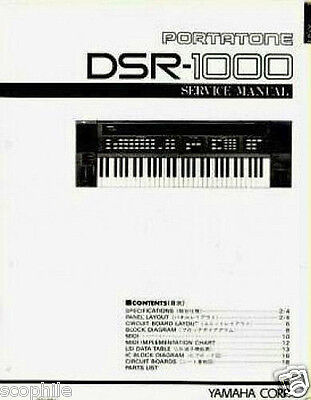 yamaha psr 4600 portatone keyboard original service manual rh picclick com Service ManualsOnline HP Owner Manuals