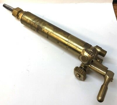 "Unknown Brand, Long Barrel Machine Track Cutting Torch Head, 7"" Barrel"