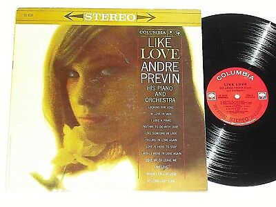 ANDRE PREVIN-Like Love (1966) Stereo COLUMBIA LP