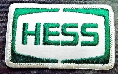 Vintage Embroidered Hess Patch gas oil hat uniform 817-s25