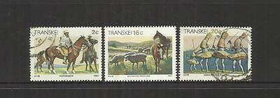 Rsa Transkei Homeland (South Africa) ~ 1984 Xhosa Culture (Part Set)