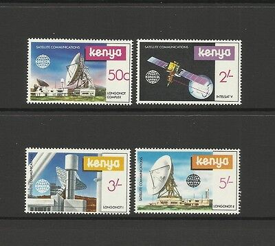 Kenya ~ 1981 Satellite Communications