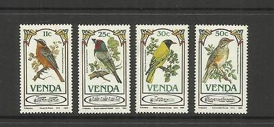 Rsa Venda Homeland (South Africa) ~ 1985 Songbirds (Mint Set Mh)