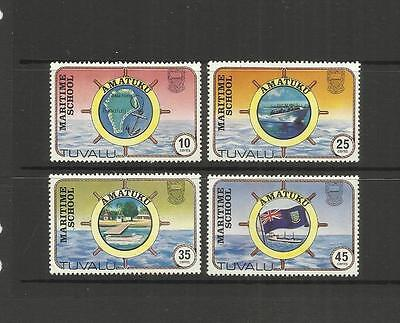 Tuvalu (Ellice Islands) ~ 1982 Amatuku Maritime School Set (Mint)
