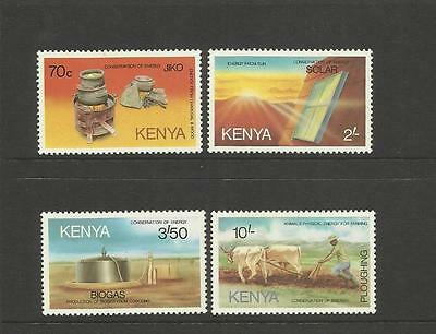 K.u.t. Kenya ~ 1985 Energy Conservation (Mint Singles Set)