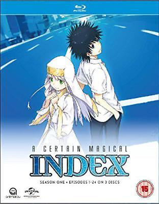 A Certain Magical Index Complete Staffel 1 Collection (Episoden 1-24) Blu-ray,