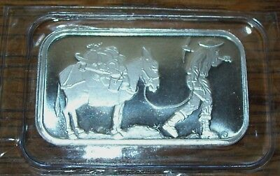 SilverTowne Prospector 1 Troy Oz. .999 Fine Silver Bar Bullion Sealed