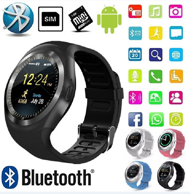 Bluetooth Smart Wrist Watch Phone Mate Waterproof for iPhone IOS Android Samsung