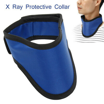 XRay 0.5mm Pb Protective Collar Lead Thyroid CT Radiation Shield Lead Neck Cover