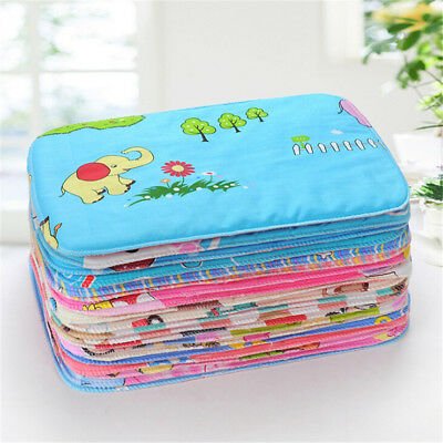 Baby Infant Waterproof Urine Mat Diaper Nappy Kid Bedding Changing Cover Pad BDA