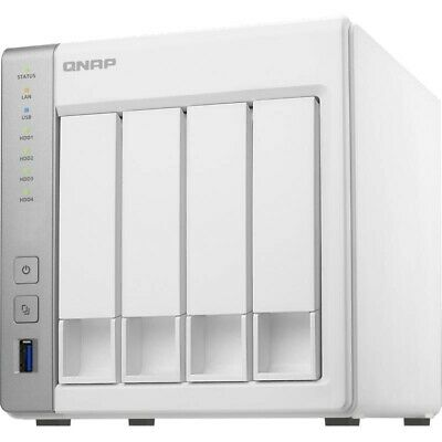 QNAP TS-431P 4 Bay NAS Dual Core 1.7GHz 0TB 1GB Network Storage