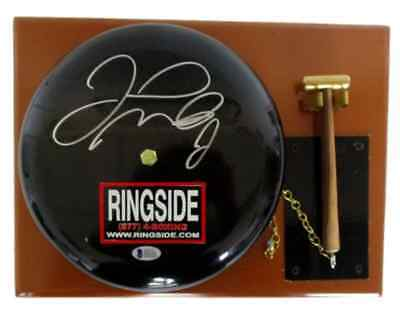 Floyd Mayweather Jr Signed Ringside Full Size Boxing Bell Beckett BAS