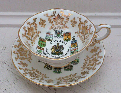 Vintage cup and saucer , fine bone china , Paragon, England,