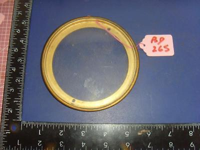 ref:bd265:  French clock case back door ring for 108mm aperture