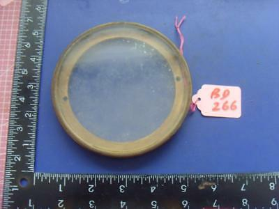 ref:bd266:  French clock case back door ring for 108mm aperture