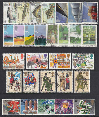 1983 Complete Commemorative Year Set ( 7 Sets ) Used