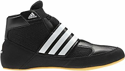adidas Havoc K Velcro Junior Wrestling Shoes - Black