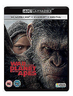 Planet Of The Apes - War For The Planet Of The Apes 4K Ultra HD NEW 4K UHD (7848
