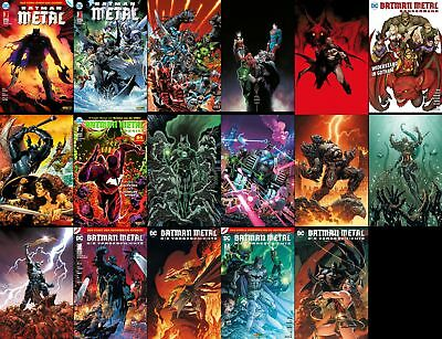 Batman  Metal  ab Band  1 + Variants + Specials  Panini - deutsch  Neu