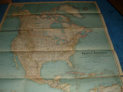 National Geographic Map - North America - May 1942