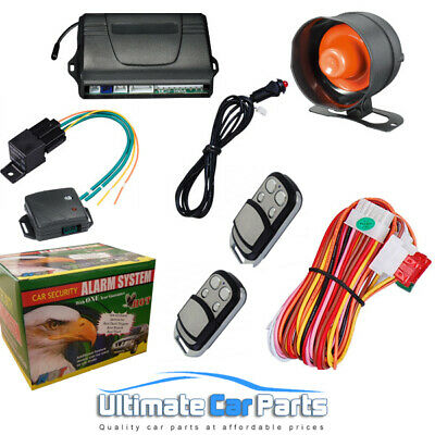 UNIVERSAL Central Locking Car Alarm And Immobiliser, Anti Hijack,Boot Release UK