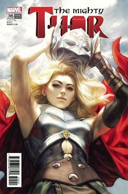 Mighty Thor #705 Artgerm Stanley Lau Variant Death Of Mighty Thor Part 6