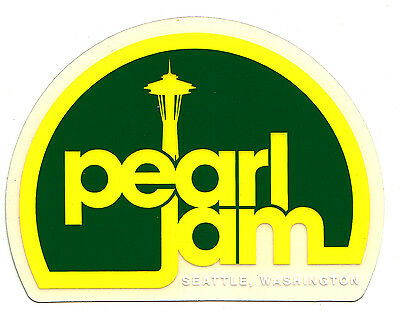 Pearl Jam Space Needle Sticker - 2013