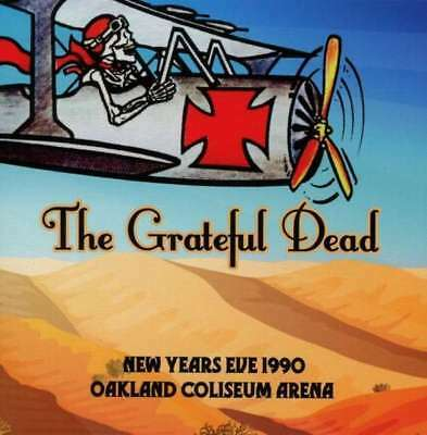Grateful Dead, The - New Years Eve 1990 Oakland Coliseum Arena NEW 3 x CD
