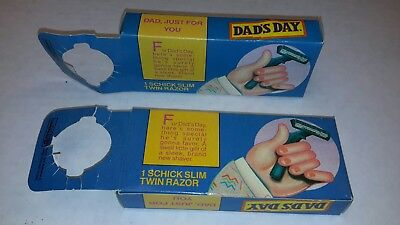 2 Old Dads Root Beer Promotional Razors In Oridignal Packages