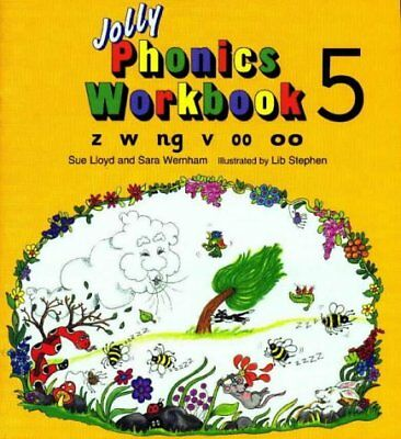 (Very Good)-Jolly Phonics Workbook: z, w, ng, v, oo (Paperback)-Susan M. Lloyd,