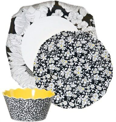 Liberty of London for Target 3-pc Place Setting Floral Melamine Plates & Bowl