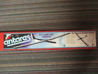 "New**vintage Top Flite  Antares Rc Glider Kit 99 3/4"" W/span ** ""red Box Kit"""