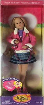 Only Hearts Club Doll Taylor Angelique Heart to Heart - 2 Necklaces Enclosed 171