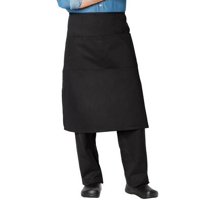Dickies Chef Wear Full Bistro Waist Apron With 2 Pockets