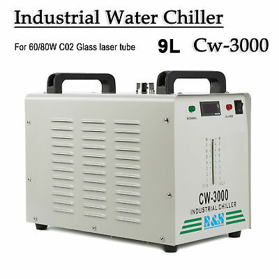 CW-3000 Industry Air Water Chiller CO2 Laser Engraving Cutting Machine 110V