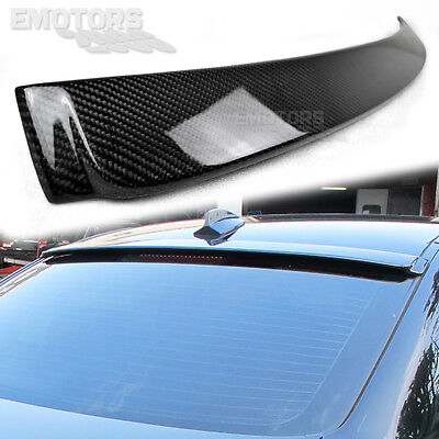 Carbon For BMW E90 3-Series Saloon A Type Rear Roof Window Spoiler 325i 320i