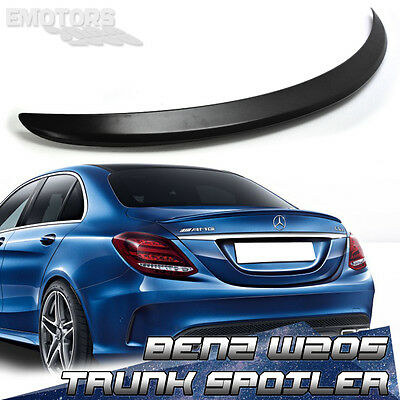 PAINTED For MERCEDES BENZ A TYPE W205 SALOON REAR BOOT TRUNK SPOILER C180 C63