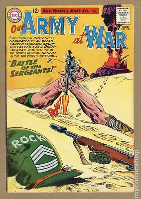 Our Army at War #128 1963 FN- 5.5