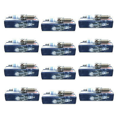 For BMW F02 6.0L V12 Series 6 Set of 12 Spark Plugs High Power Bosch ZR5TPP33