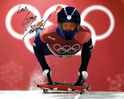 Elizabeth Lizzy YARNOLD Autograph Signed 10x8 Photo AFTAL COA 2018 Gold Winner