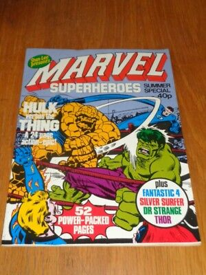 Mighty World Of Marvel Superheroes Summer Special 1979 British Comic