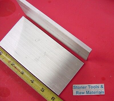 """8 pieces 1/4"""" X 3"""" ALUMINUM 6061 FLAT BAR 6"""" long T6511 SOLID Plate Mill Stock"""