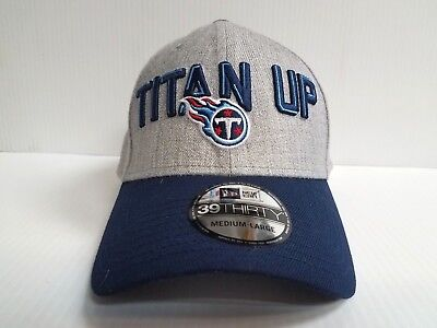 Tennessee Titans Cap New Era 39Thirty Stretch 2018 On Stage NFL Draft Day  Hat 169df4df7