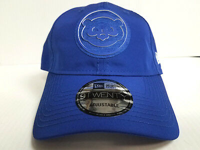 69f7c1bf YOUTH Chicago Cubs Cap New Era 9Twenty Adjustable 2018 Clubhouse Dad Hat MLB