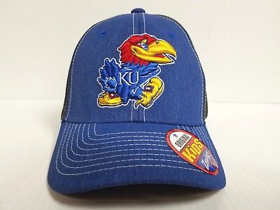 info for 3a586 c7805 YOUTH Kansas Jayhawks Cap Zephyr Stretch Fit Fitted Heathered Dusk Hat NCAA